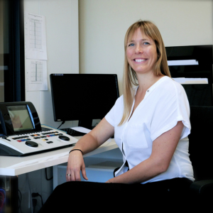 Christine Turgeon, Ph.D, audiologiste, co-propriètaire