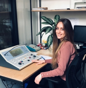 Alisanne Soly, Audiologiste
